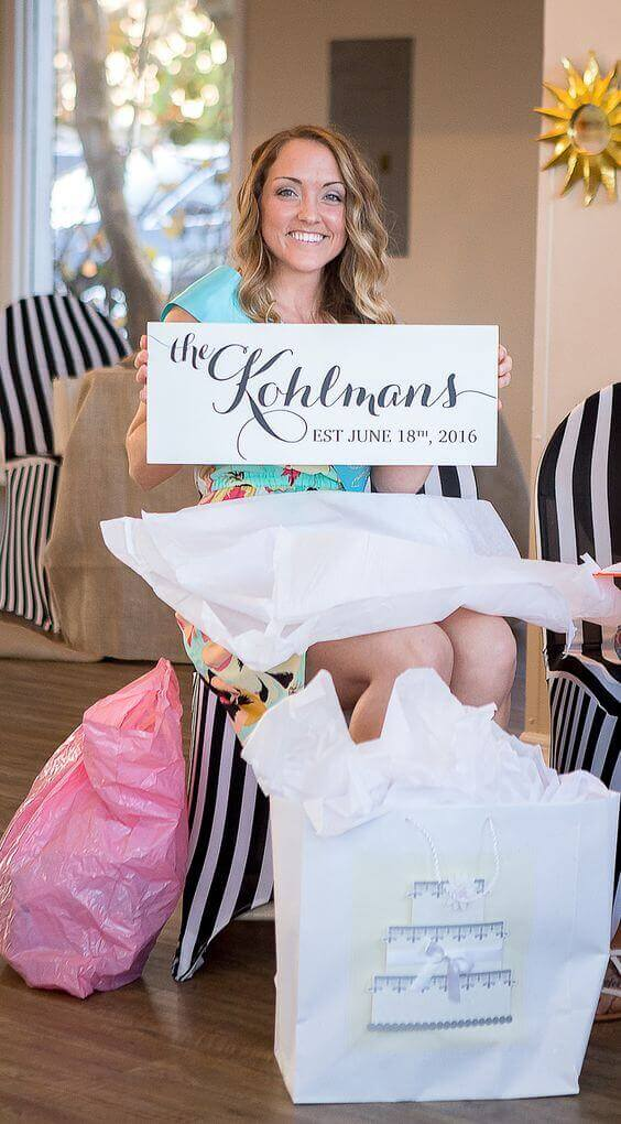 We gathered some clever bridal shower ideas you and the blushing bride and groom will certainly love and we hope to help you provide the event with cool ideas, gifts, décor and overall amazingness of the bridal shower! For more ideas go to wedwithbliss.com